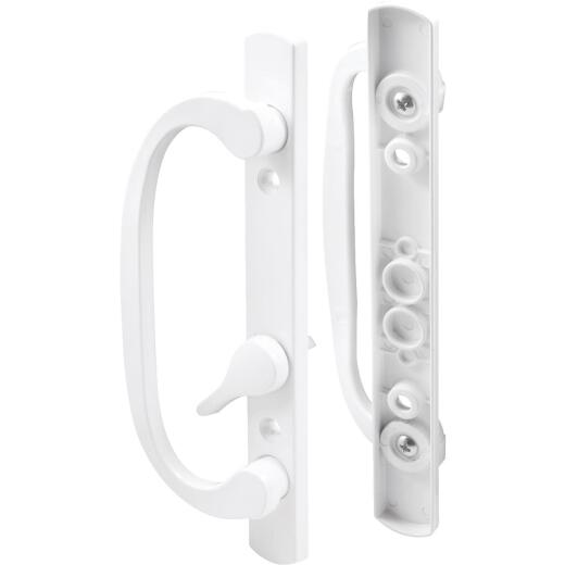 Prime-Line Mortise Style Sliding Door Handle Set With Offset Thumbturn