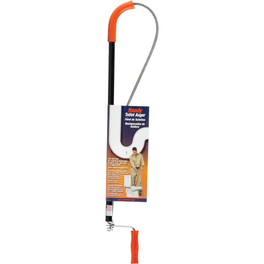General Wire Tube Barrell Gimlet 3/8 In. x 3 Ft. Toilet Auger