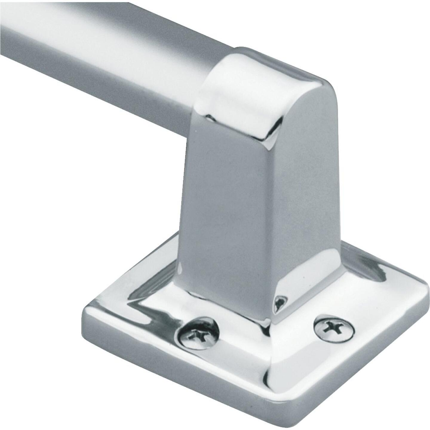 Moen Home Care 24 In. x 7/8 In. Exposed Screw Grab Bar, Chrome Image 1