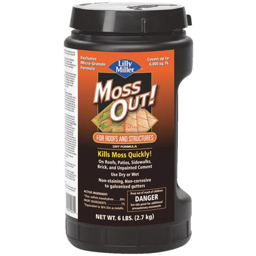 Lilly Miller MOSS OUT! 6 Lb. Ready To Use Granules Moss & Algae Killer