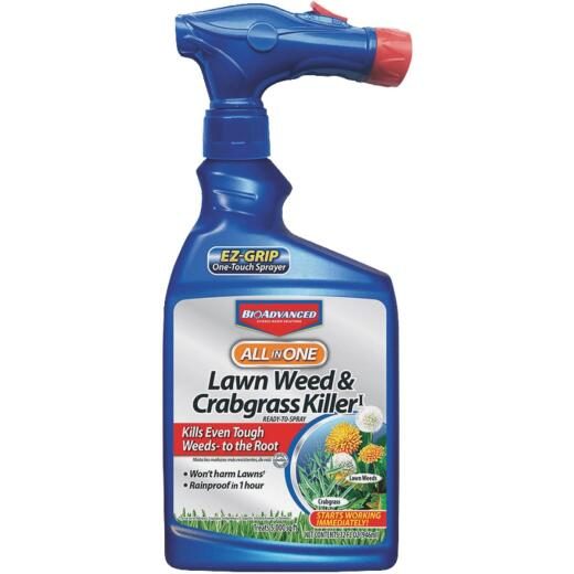BioAdvanced All-in-1 32 Oz. Ready To Spray Crabgrass & Weed Killer