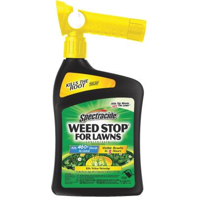 Spectracide Weed Stop For Lawns 32 Oz. Ready To Spray Hose End Weed Killer