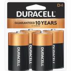 Duracell CopperTop D Alkaline Battery (4-Pack) Image 1