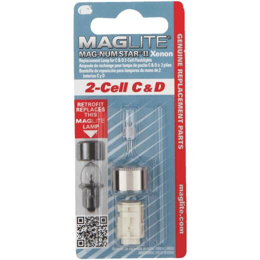 Maglite Xenon 3V Replacement Flashlight Bulb
