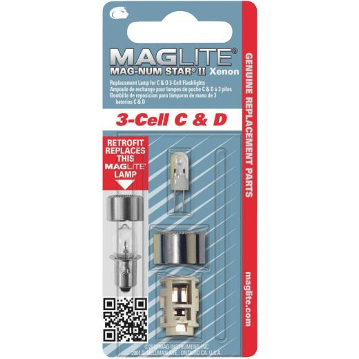 Maglite Xenon 4.5V Replacement Flashlight Bulb
