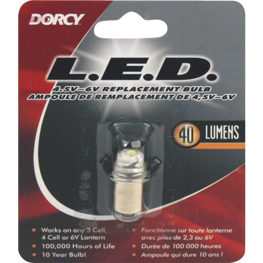 Dorcy 4.5V to 6V LED Replacement Flashlight Bulb