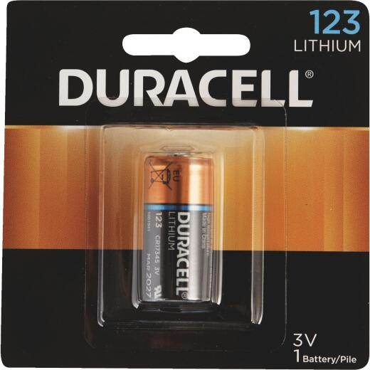 Duracell 123 Ultra Lithium Battery