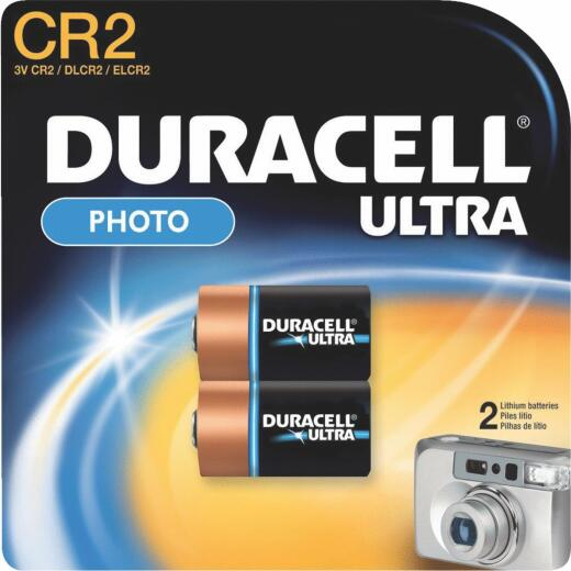 Duracell CR2 Ultra Lithium Battery (2-Pack)