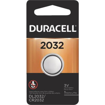 Duracell 2032 Lithium Coin Cell Battery
